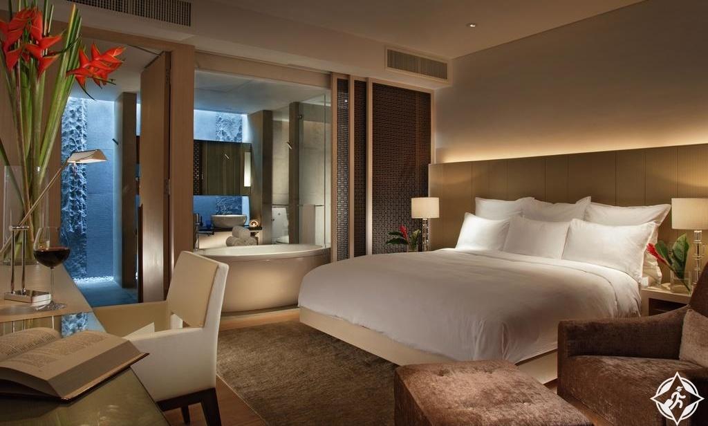 الفنادق الرومانسية في سنغافورة - فندق ماريوت سنغافورة تانغ بلازا