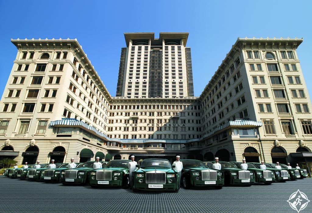 الفنادق الفاخرة في هونغ كونغ - بينينسولا هونج كونج