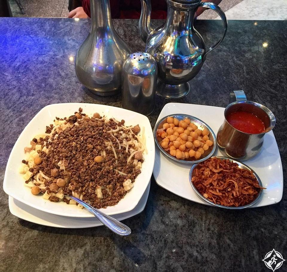 مطاعم القاهرة - كشري ابو طارق