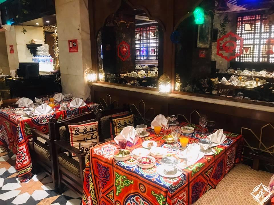 مطاعم القاهرة - مطعم نجيب محفوظ