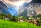عجائب الطبيعة في سويسرا