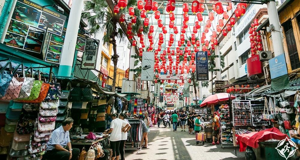 السياحة في كوالالمبور - الحي الصيني