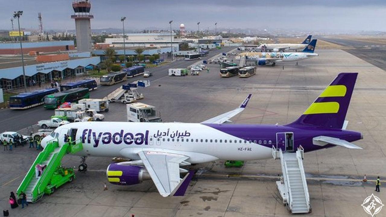 طيران أديل يطلق أولى رحلاته من مطار الباحة إلى الدمام